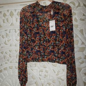 BNWT FREE PEOPLE BLOUSE